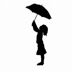 umbrella in the rain silhouette - Google Search ...