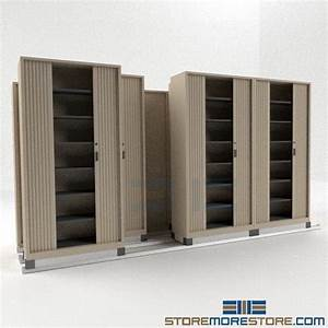 Side To Side Sliding Storage Cabinets With Doors Rolling