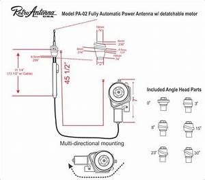 Ford Power Antenna Schematic