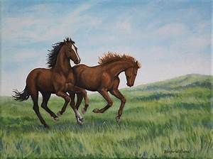Galloping Horse Painting | www.pixshark.com - Images ...