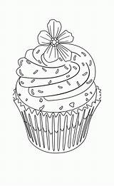 Cupcake Coloring Muffin Ausmalbilder Cupcakes Printable Birthday Ausmalbild Coloriage Adult Hard Kolorowanki Pesquisa Imprimir Desenhos Kuchen Dessin Clipart Letzte Seite sketch template
