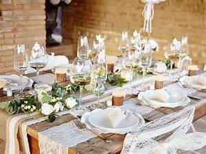 Centre De Table Champetre : comment r ussir une d co de table champ tre elle ~ Melissatoandfro.com Idées de Décoration