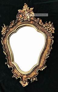 Spiegel Oval Antik : gro er wandspiegel barock oval 103x73cm badspiegel antik spiegel gold ~ Frokenaadalensverden.com Haus und Dekorationen