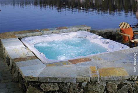 Whirlpool Im Garten Einlassen by Pool In Die Erde Einlassen Finest Als Infinity Pool With