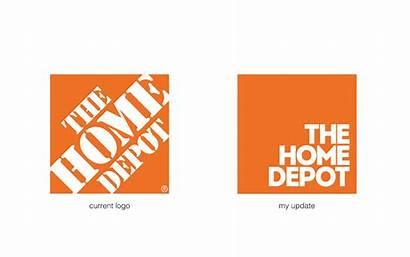 Depot Logos Behance Rebranding Concept Project Logolynx