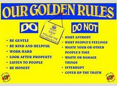 Bryn School OUR GOLDEN RULES