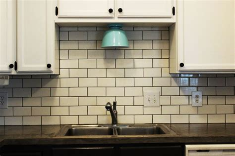 installing ceramic tile backsplash in kitchen how to install a subway tile kitchen backsplash
