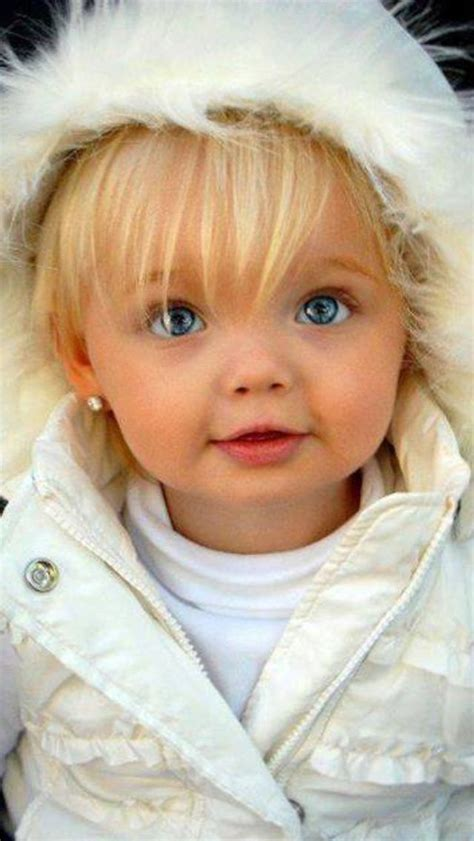 Baby Blond Hair by Blue Eyed Hair Baby Piercing