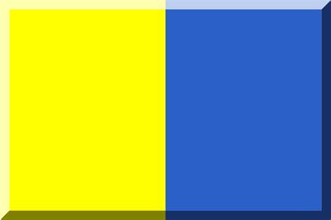 Fileyellow And Blue Flagsvg Wikinotizie