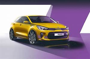 Rio Autos : new kia rio revealed latest on kia s upcoming fiesta rival car magazine ~ Gottalentnigeria.com Avis de Voitures