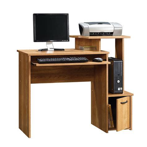 Sauder Beginning Oak Finish Computer Desk Home Small Sauder Computer Desk Best Durability