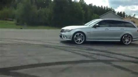 Audi Rs4 -01 Vs Mercedes C63 Amg Kleemann