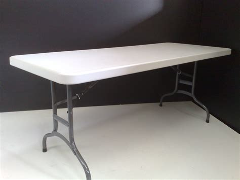 trestle table and chairs 1 8m heavy duty plastic moulded trestle table folding