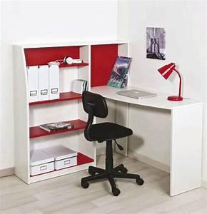 chaise de bureau a leclerc With bureau d angle avec surmeuble 2 meuble bureau et ordinateur pas cher but fr