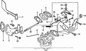 Honda Hra21 Sda Lawn Mower  Jpn  Vin  Hra21