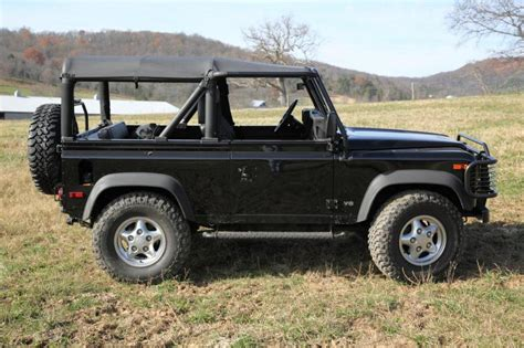 1997 land rover defender 1997 land rover defender information and photos