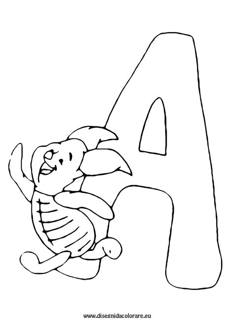 alfabeto con disegni per bambini da stare alfabeto da colorare bambini lettere dell alfabeto da