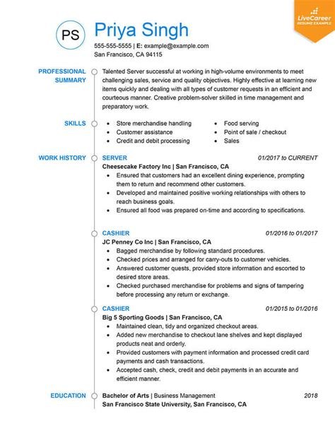 Best Resume Format by 9 Best Resume Formats Of 2019 Livecareer
