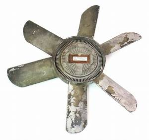 Radiator Fan  U0026 Clutch Mercedes Diesel Om617 951 300d 300cd