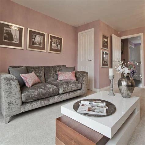 grey pink trendy home decor  ideas  grey interior