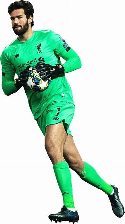 Becker Alisson Render Liverpool Footyrenders Football Premier