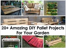 20+ Amazing DIY Pallet Projects For Your Garden
