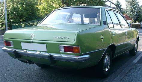 Opel Rekord by File Opel Rekord D Rear 20070912 Jpg
