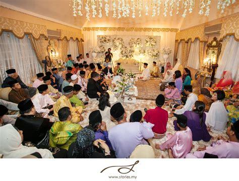 nikah shangri la reception fariz nadia malaysia