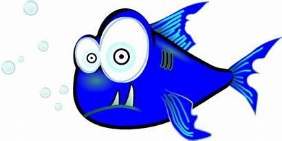 Piranha Clipart Fish Funny Clip Svg Cartoon