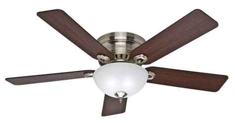 hunter springhill  brushed nickel ceiling fan  menards