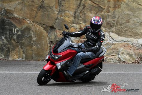 Nmax 2018 Grey Matte by Review 2018 Yamaha Nmax 155 Scooter Bike Review