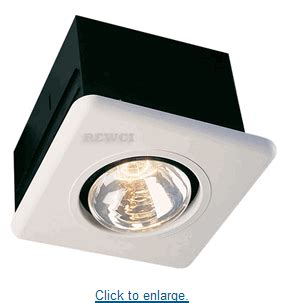 Infrared Bathroom Heat Lamp Only