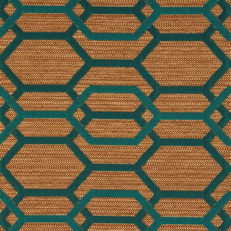 Furniture Upholstery Fabric by Teal Green Geometric Upholstery Fabric Teal Furniture Fabric