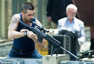 Teen gunned down at site where Colin Farrell will begin ...