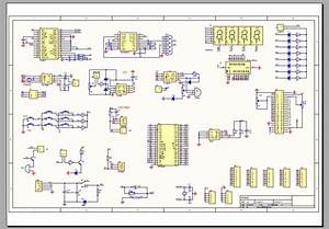 Ep1c3t144 Chip Development Board Schematics And Circuit