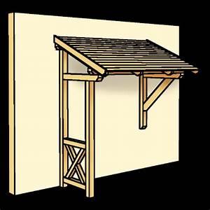 Vordach Haustür Mit Seitenteil : vordach aus holz selber bauen ~ Buech-reservation.com Haus und Dekorationen