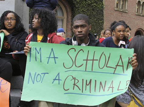 usc students allege racial profiling  lapd code switch