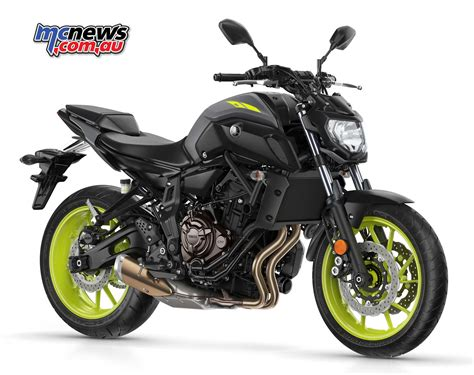 yamaha mt 07 gets sharp new styling for 2018 mcnews au - Mt 07 Yamaha