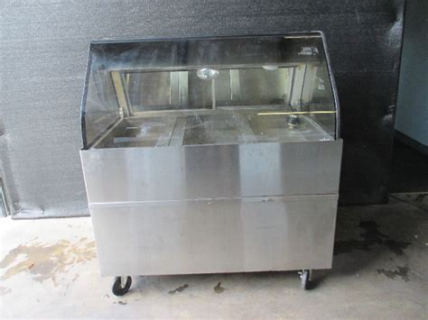 alto shaam ed  curved glass full service hot display