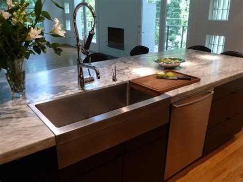 stainless farmhouse kitchen sinks stainless steel farmhouse sink the homy design 5708