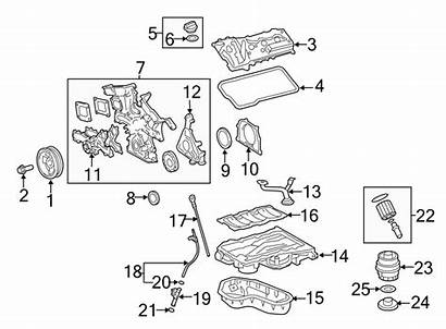 Camry Toyota Parts Engine Oil Filter Diagram