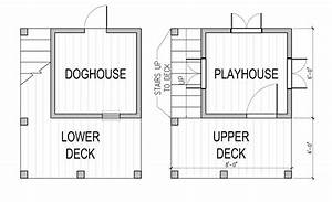 Two story playhouse and doghouse design for 2 story dog house for sale