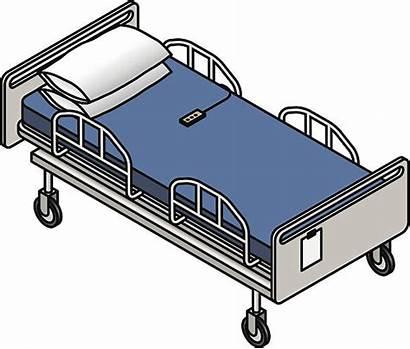 Hospital Bed Vector Illustration Gurney Illustrations Empty