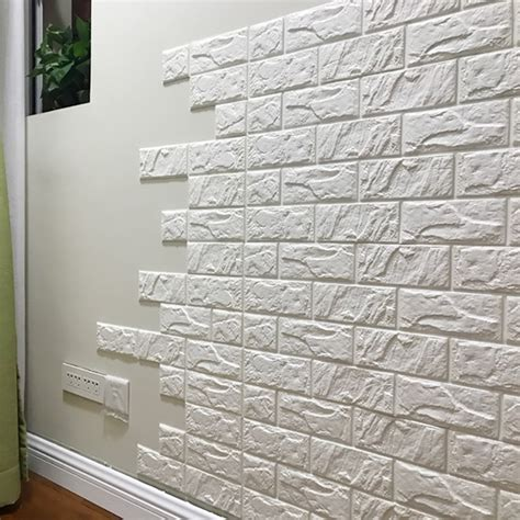 3d Brick Wallpaper South Africa by 30 Quot X 27 Quot Wallpaper 3d Faux Brick Wallpaper White