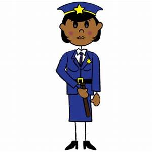 Free Policewoman Clipart Image 0515-0911-0522-5461 ...