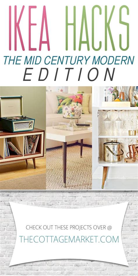 decor hacks ikea hacks the mid century modern edition decors ideas home of decorating - 10 Simple Modern Diy Decorations