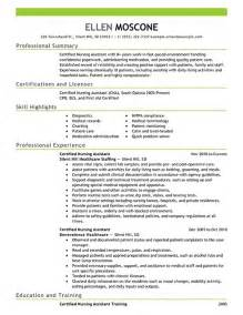Best Assistant Resume by Cna Resume Template Template Design