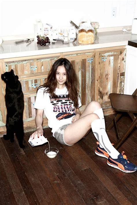 fx member krystal models sporty style  puma