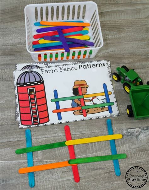 preschool books about patterns preschool farm theme planning playtime 588