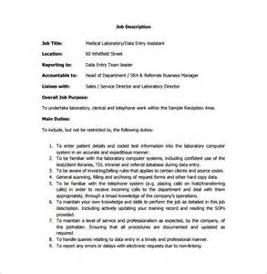 Data Entry Description Resume Sle by 28 Data Entry Description For Resume Sle Data Entry Resume 6 Exles In Pdf Word Unforgettable